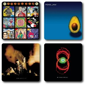 Pearl Jam 4 Piece Coaster Sets