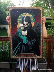Mastodon Official Concert Poster - June 20 2019 Salt Lake City - Artist Edition
