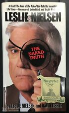 LESLIE NIELSEN SIGNED THE NAKED TRUTH HARDCOVER BOOK AUTOGRAPH JSA CERTIFICATE