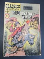 CLASSICS ILLUSTRATED #53 A CHRISTMAS CAROL 1ST ED HRN 53 COMIC NOV/1948