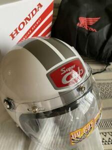 Honda Super Cub 60th Anniversary Limited Helmet Ivory Red SIZE M/L 57cm60cm