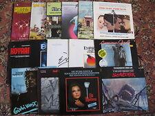 Lot 16 LP 's OST COLONNE SONORE Sorcerer Lili Marleen gibbi Philip Glass D NL | EX