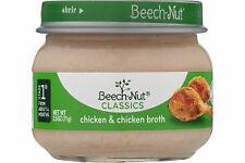 Beech-Nut Classics Chicken & Chicken Broth Jarred Baby Food 2.5oz Jars 10 Pack