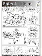 Kreidler Florett und andere Patente. 700 Seiten