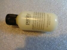 PHILOSOPHY PURITY MADE SIMPLE ONE-STEP FACIAL CLEANSER 2 oz New