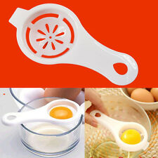 Kitchen Sifting Plastic White Yolk Egg Filter Separator Divider Gadget Chef WFAU