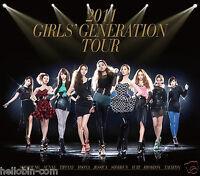 SNSD Girls' Generation - 2011 GIRLS' GENERATION TOUR [2CD+60p Photobook] + GIFT