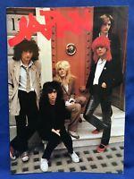 Japan David Sylvian Japan Tour 1979 Program Programme Steve Jansen Mick Karn
