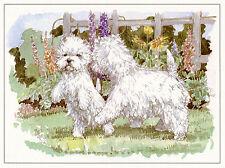 """WEST HIGHLAND WHITE TERRIER WESTIE DOG FINE ART  PRINT - """"Playtime"""""""