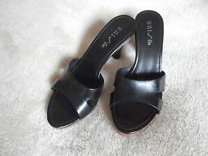 Unisa women's black shoes