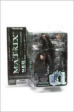 Matrix movie NEO action figure-McFarlane series 1-Keanu Reeves-Morpheus-Trinity