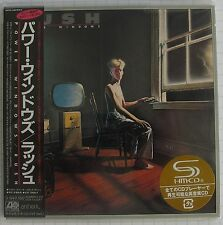 RUSH - Power Windows JAPAN SHM MINI LP CD NEU RAR! WPCR-13482