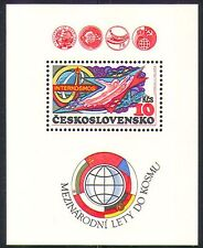 Czechoslovakia 1980 Space/Rocket/Intercosmos m/s n32268