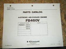 KAWASAKI 4 STROKE AIR COOLED ENGINE FACTORY PARTS CATALOG FB460V-CS14 D E MANUAL