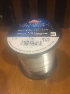 Berkley Vanish 100% Fluorocarbon fishing New!