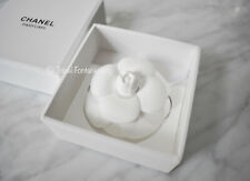 CHANEL White Ceramic Gardenia Camellia Perfume Me With Chanel Diffuser NEW