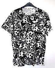 Kurzarm Damen-T-Shirts aus Baumwollmischung mit Rundhals