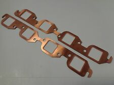 Bbc Square Port Copper Header Exhaust Gaskets Bb Chevy 396 427 454 502 Reusable
