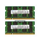 NEW Samsung Pair 4GB 2X2GB PC2-5300 DDR2 667Mhz PC5300 200pin Laptop Memory Ram