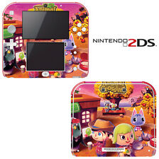 Vinyl Skin Decal Cover for Nintendo 2DS - Animal Crossing New Leaf Autumn