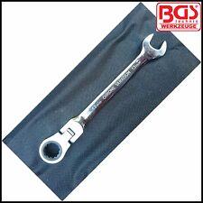 BGS - 15 mm Trinquete Flexi Cabeza Llave Combi-Disco de 72 DIENTES-Pro - 30002-15