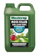 2.5l Maxicrop Moss Killer & Lawn Tonic Organic Seaweed Fertiliser Garden Feed