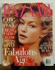 Harper's Bazaar Gigi Hadid Fabulous at Every Age Style Oct 2016 FREE SHIPPING JB