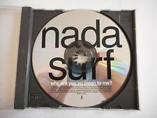 NADA SURF PROMO SINGLE : WHY ARE YOU SO MEAN TO ME ? + BIO AUDIO || PORT GRATUIT