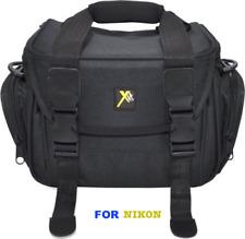 LARGE PADDED CAMERA BAG CASE FOR NIKON D3000 D3100 D3200 D3300 D3400 D5000 D5100