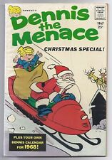 Vintage Fawcett Comics Dennis The Menace Christmas Special 1967 Classic Cover