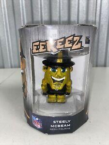 Foco Eekeez Steely Mcbeam Resin Figure Pittsburgh Steelers Mascot NFL