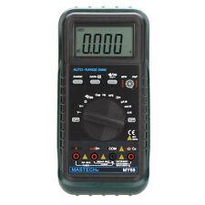 MASTECH MY68 Auto Range Digital Multimeter DMM w/Capacitance Frequency hFE Test