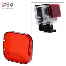 SNAP-ON DIVE HOUSING Red FILTER FOR GOPRO HD HERO 3+
