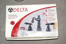 DELTA NEW NIB 2755RB ROMAN TUB FAUCET SET KIT VENETIAN BRONZE