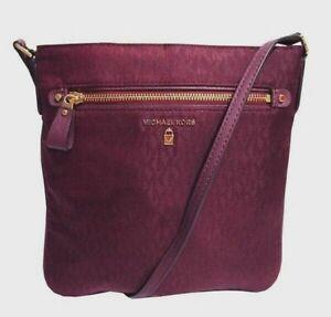 Michael Kors Kelsey Signature Nylon Crossbody Bag Msrp:$108.00