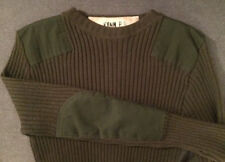 Mens DSCP VALOR COLLECTION MILITARY SERVICE WOOL SWEATER Army Green SIZE 40