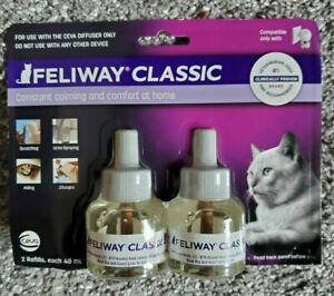 Feliway Classic CAT Diffuser Refills 2ct