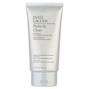 Estee Lauder Perfectly Clean Multi-Action Foam Cleanser Purifying Mask NEW #7741