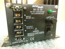 Newmar 32-12-10 DC-DC converter 10A continuous  In- 20-50vdc Out- 13.6VDC