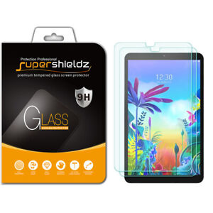 2x Supershieldz Tempered Glass Screen Protector for LG G Pad 5 10.1 FHD