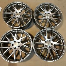 4x 20x8 5x114 et35 Dare NK Alloy Wheels | Fitted see pictures and description