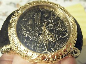 "AUTOMATIC INVICTA EMPIRE DRAGON WATCH BEAUTIFUL DETAIL WORK AND ""VERY LIMITED"""