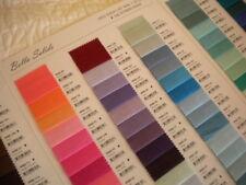 Moda BELLA SOLID Plain Colours Fabric Fat Quarters / Metres