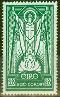Ireland 1943 2s6d Emerald Green SG123 V.F MNH