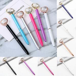 Personalised Heart Gel Writing Ink Pen Stationery School Office Ballpoint Pen
