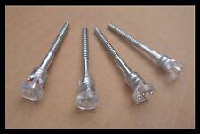 Fiat 126 Lights Plastic Head Long Screw - Set of 4 (four)
