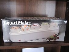 Vintage Salton Yogurt Maker with Box - Automatic Model GM-5W - great condition