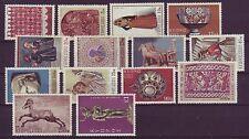 Briefmarken aus Zypern mit Kunst-Motiv