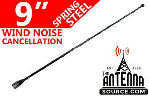 "9"" Black Spring Stainless AM/FM Antenna Mast Fits: 2002-2005 Chevrolet Venture"
