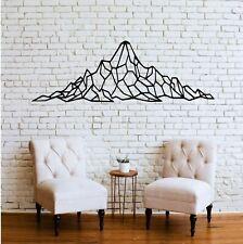 Geometric Mountain Range Metal Wall Art Decor Home Living Office Decoration 5106